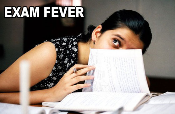 exam fever Exam fever - download as word think of all the necessary things you need to carry with yourself to the examination centre say for example also think of the.